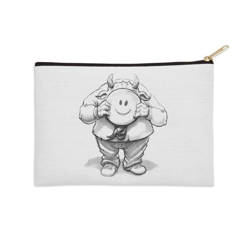 That smiley demon! Accessories Zip Pouch by Franky Nieves Shop