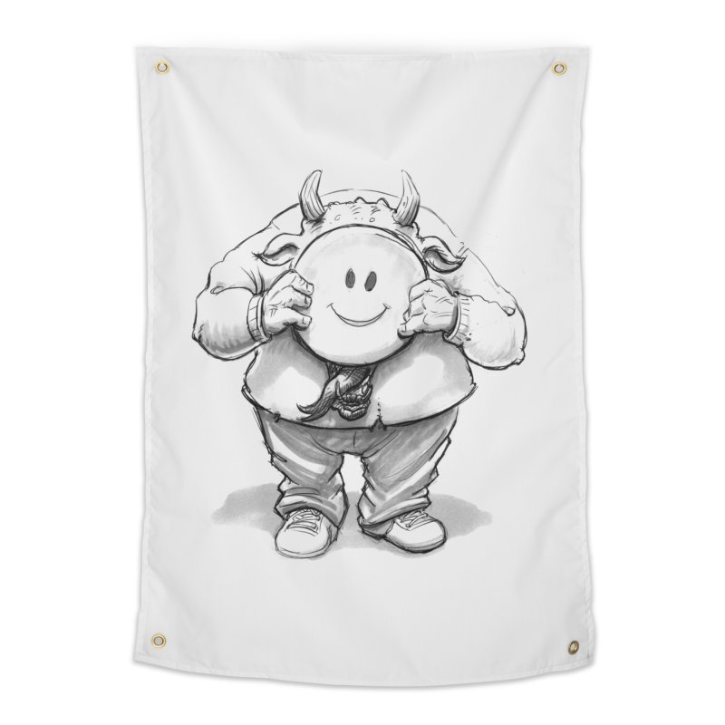That smiley demon! Home Tapestry by Franky Nieves Shop