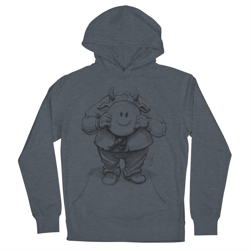 That smiley demon! Women's French Terry Pullover Hoody by Franky Nieves Shop
