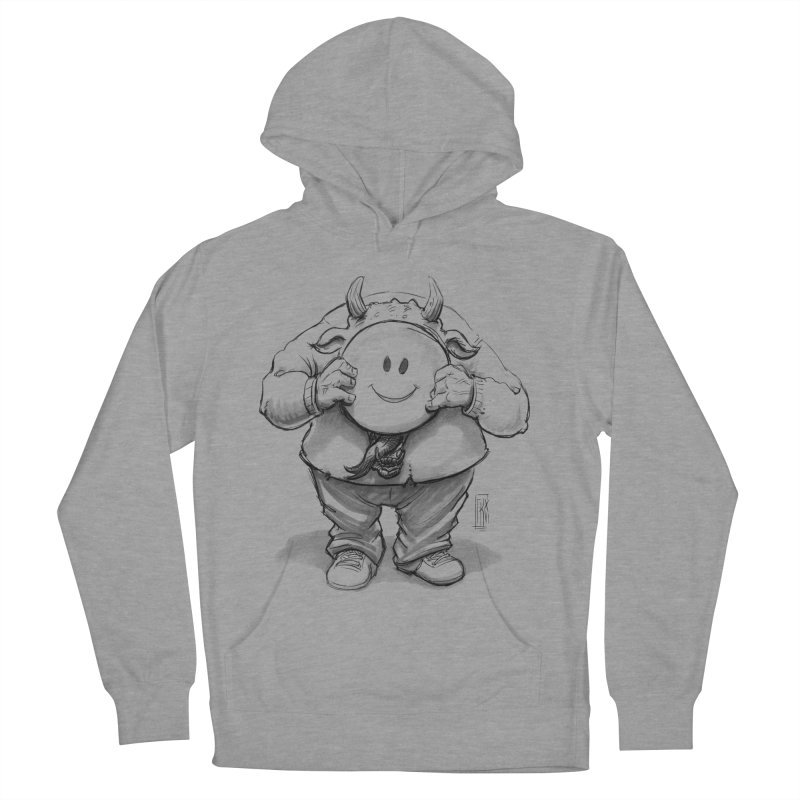 That smiley demon! Women's Pullover Hoody by Franky Nieves Shop
