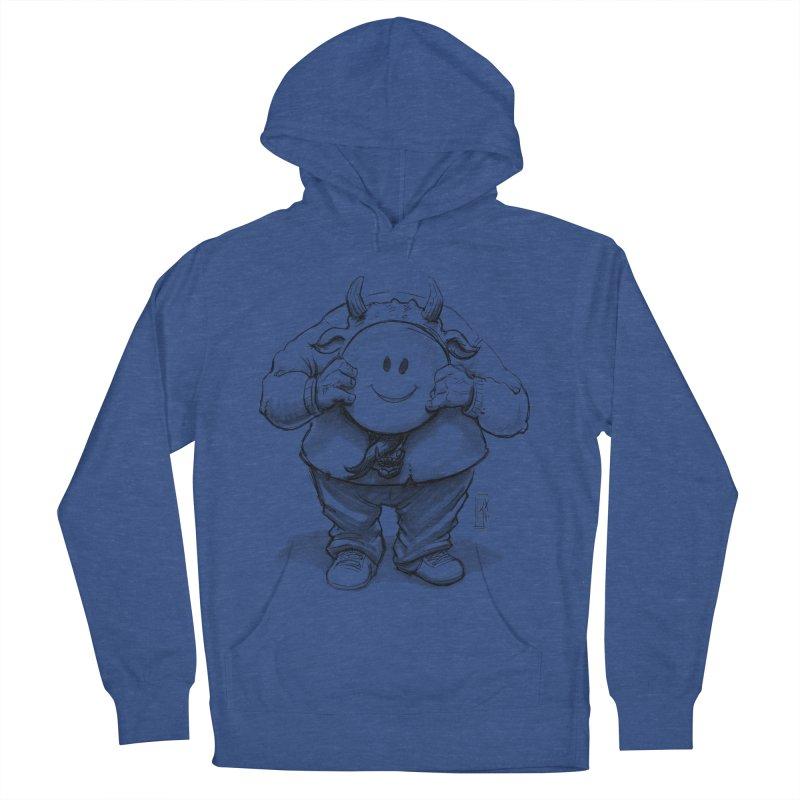 That smiley demon! Men's Pullover Hoody by Franky Nieves Shop