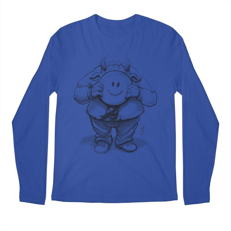 That smiley demon! Men's Longsleeve T-Shirt by Franky Nieves Shop