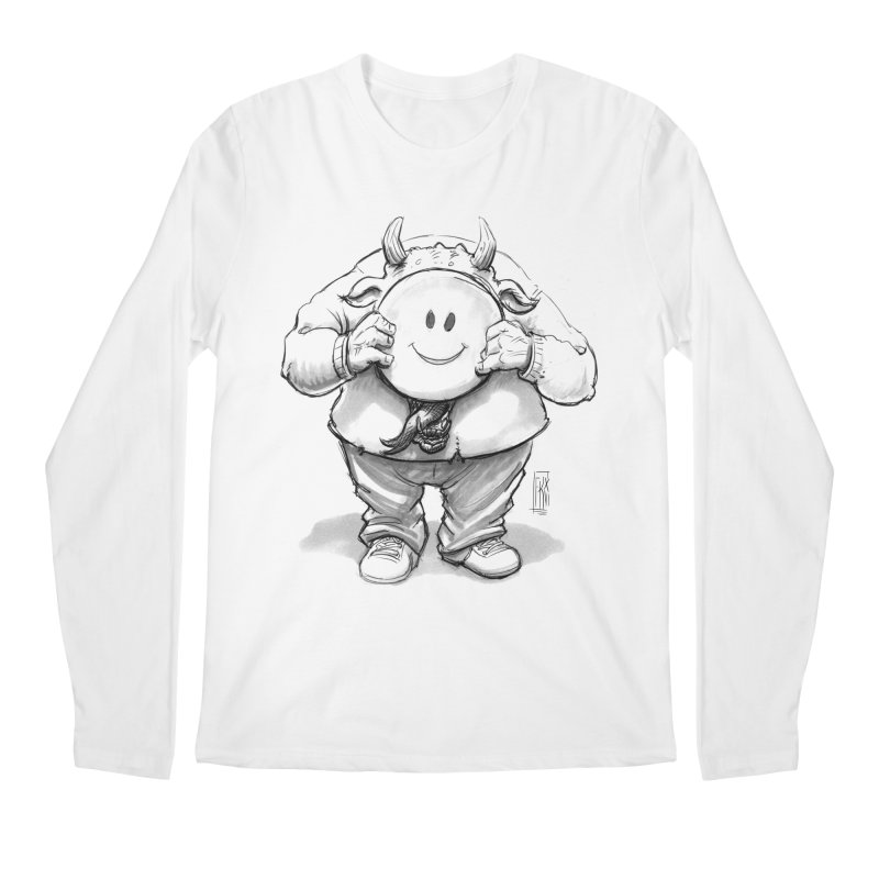 That smiley demon! Men's Regular Longsleeve T-Shirt by Franky Nieves Shop