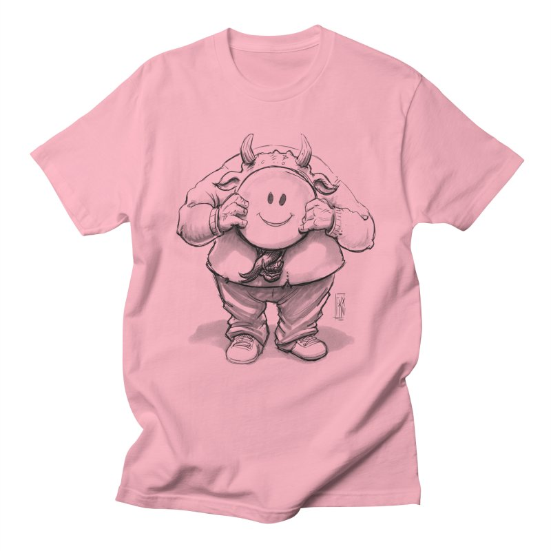 That smiley demon! Men's Regular T-Shirt by Franky Nieves Shop