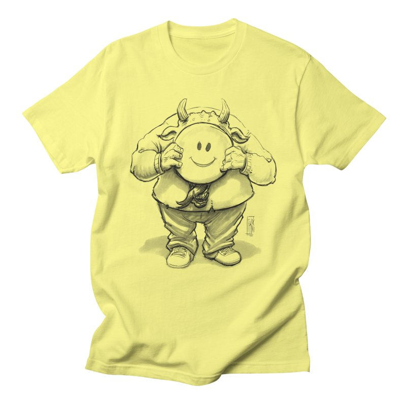 That smiley demon! Men's Regular T-Shirt by Franky Nieves Shop