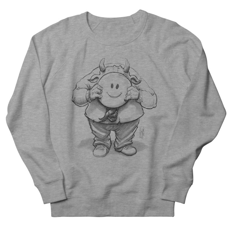 That smiley demon! Women's French Terry Sweatshirt by Franky Nieves Shop