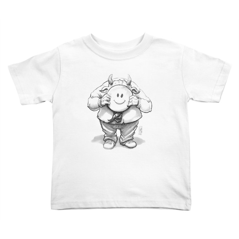 That smiley demon! Kids Toddler T-Shirt by Franky Nieves Shop