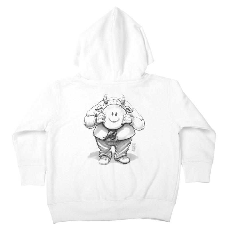 That smiley demon! Kids Toddler Zip-Up Hoody by Franky Nieves Shop