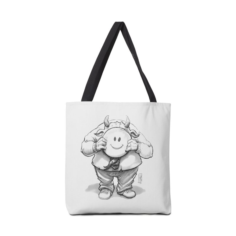 That smiley demon! Accessories Bag by Franky Nieves Shop