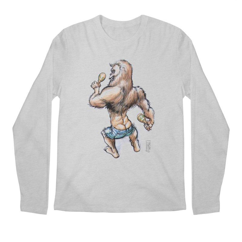 Cuban Yeti Men's Longsleeve T-Shirt by Franky Nieves Shop