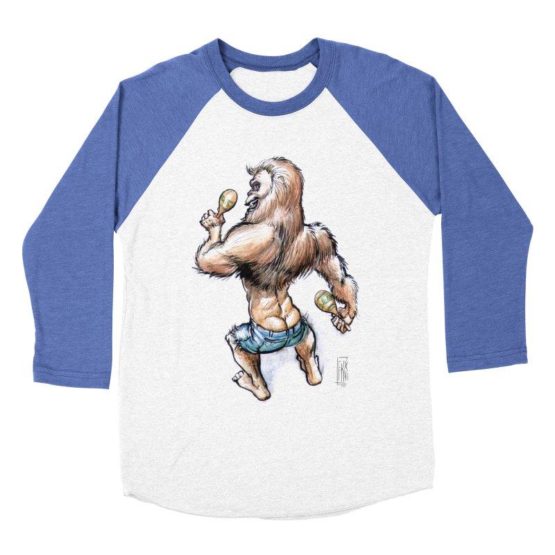 Cuban Yeti Men's Baseball Triblend T-Shirt by Franky Nieves Shop