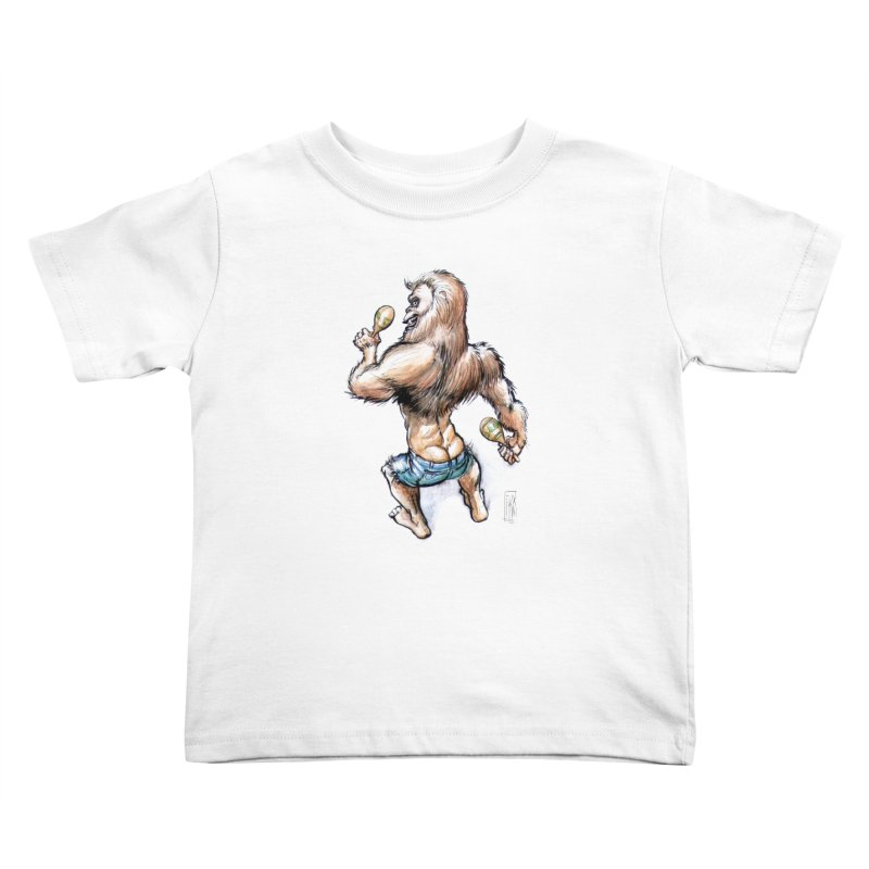 Cuban Yeti Kids Toddler T-Shirt by Franky Nieves Shop