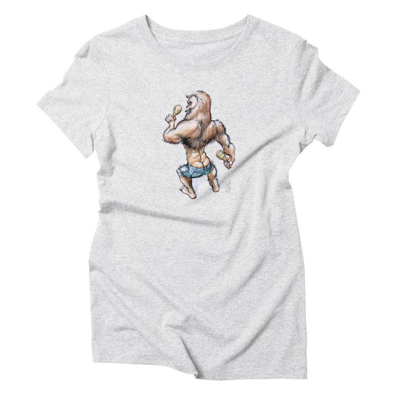 Cuban Yeti Women's T-Shirt by Franky Nieves Shop