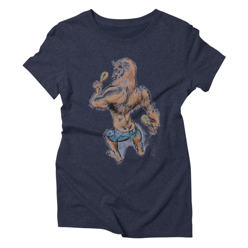 Cuban Yeti Women's Triblend T-Shirt by Franky Nieves Shop
