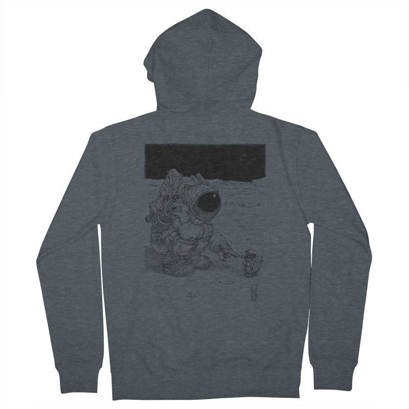 Thingy Men's Zip-Up Hoody by Franky Nieves Shop