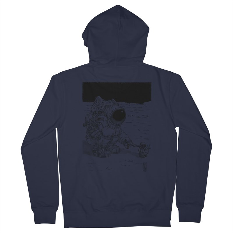Thingy Men's French Terry Zip-Up Hoody by Franky Nieves Shop