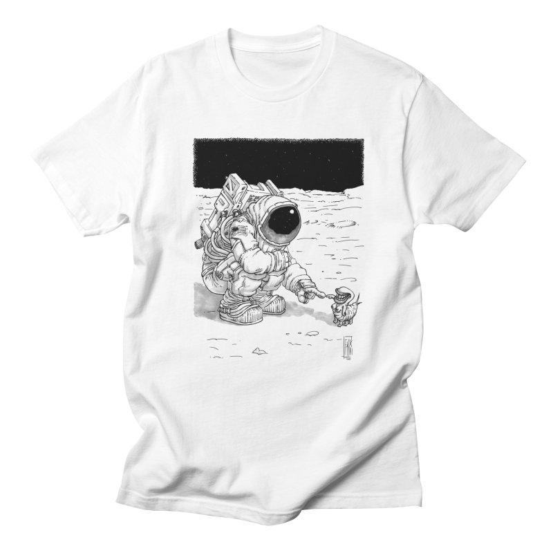 Thingy in Men's Regular T-Shirt White by Franky Nieves Shop