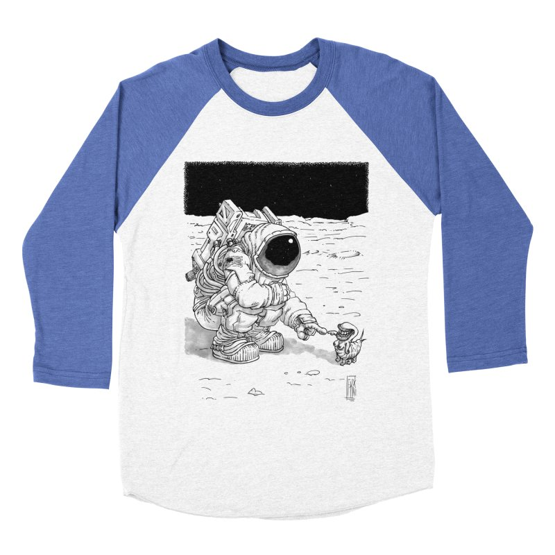 Thingy Women's Baseball Triblend Longsleeve T-Shirt by Franky Nieves Shop