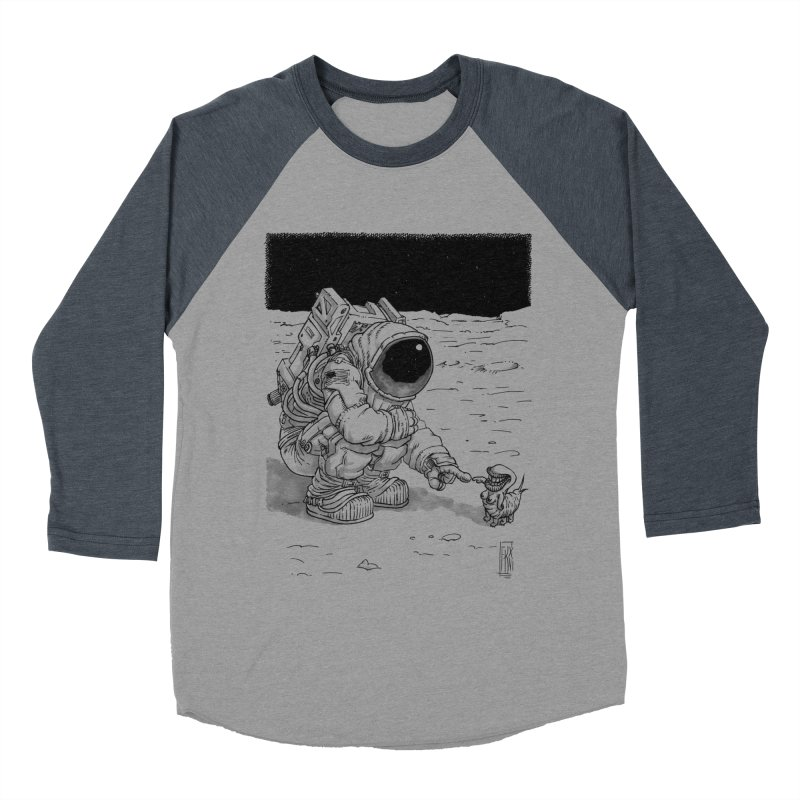 Thingy Men's Baseball Triblend T-Shirt by Franky Nieves Shop