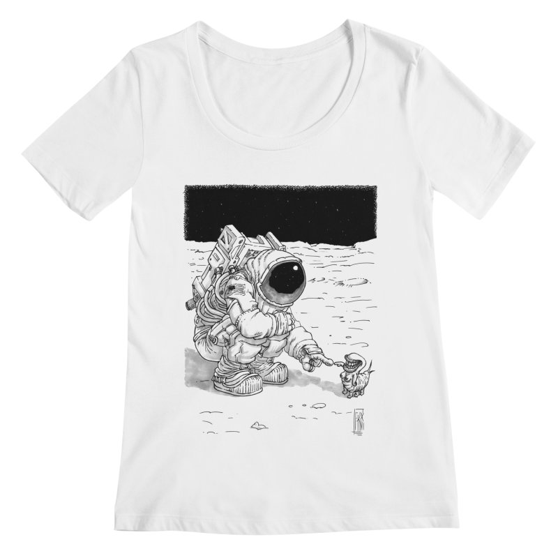 Thingy Women's Regular Scoop Neck by Franky Nieves Shop