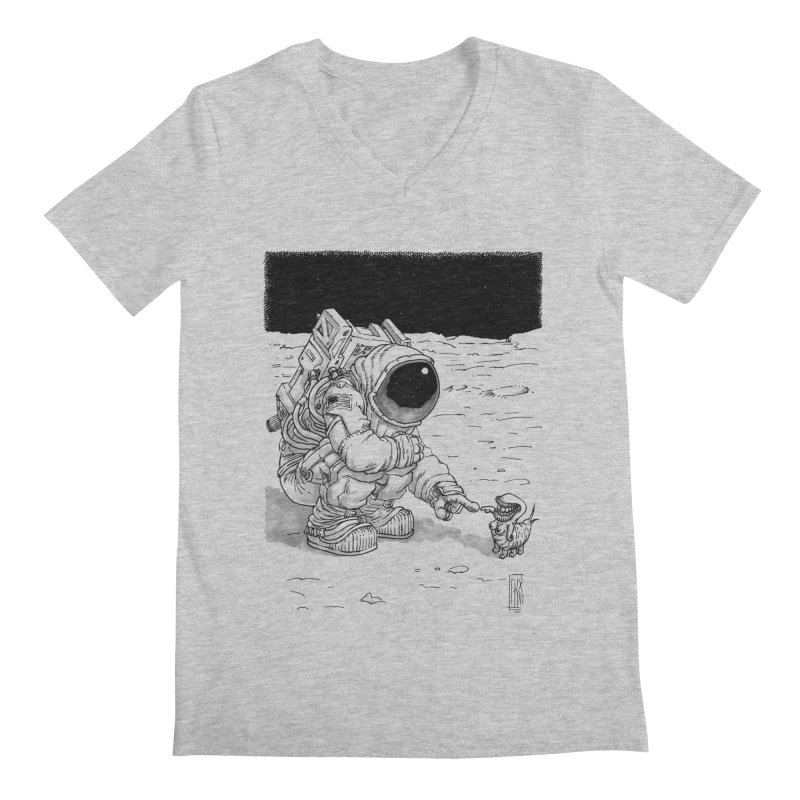 Thingy Men's Regular V-Neck by Franky Nieves Shop
