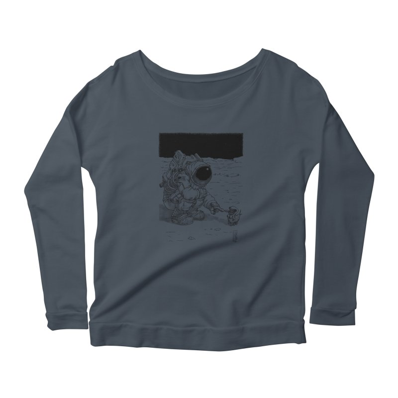 Thingy Women's Scoop Neck Longsleeve T-Shirt by Franky Nieves Shop