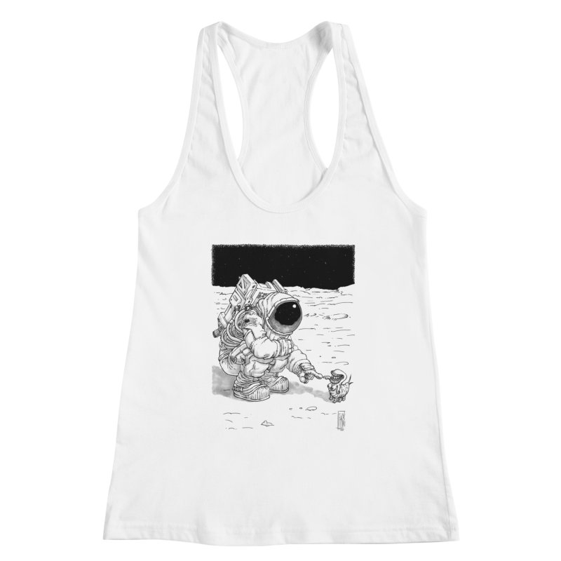 Thingy Women's Racerback Tank by Franky Nieves Shop