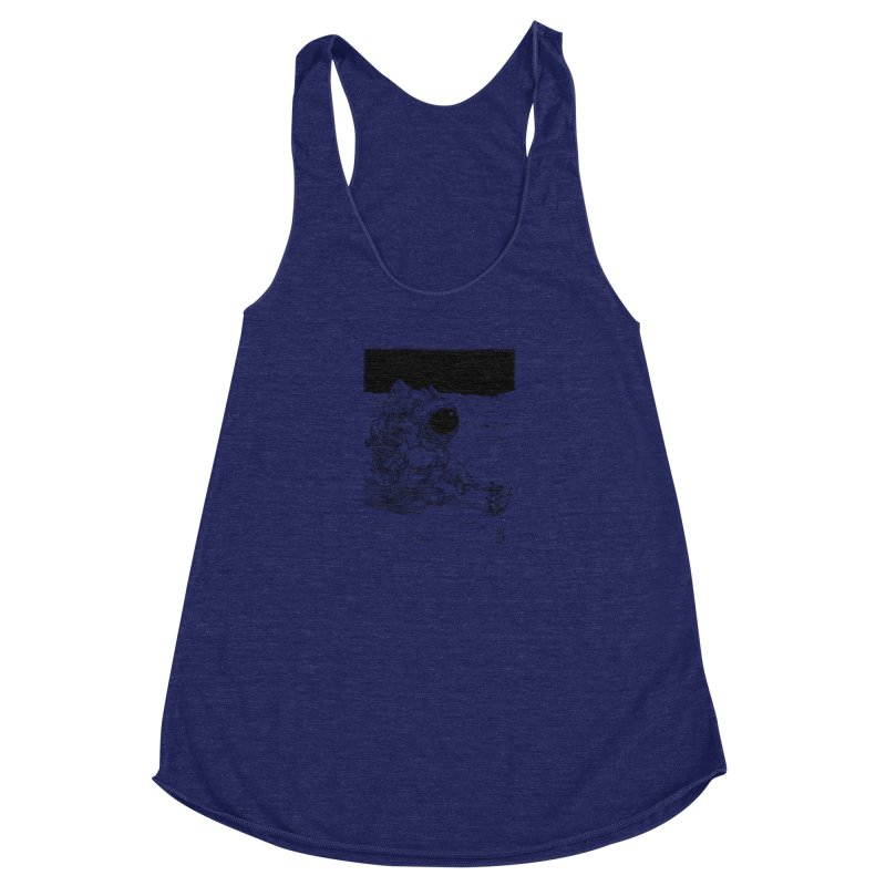 Thingy Women's Racerback Triblend Tank by Franky Nieves Shop