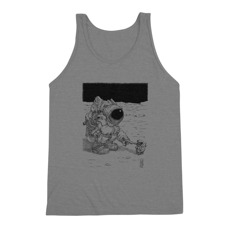 Thingy Men's Triblend Tank by Franky Nieves Shop