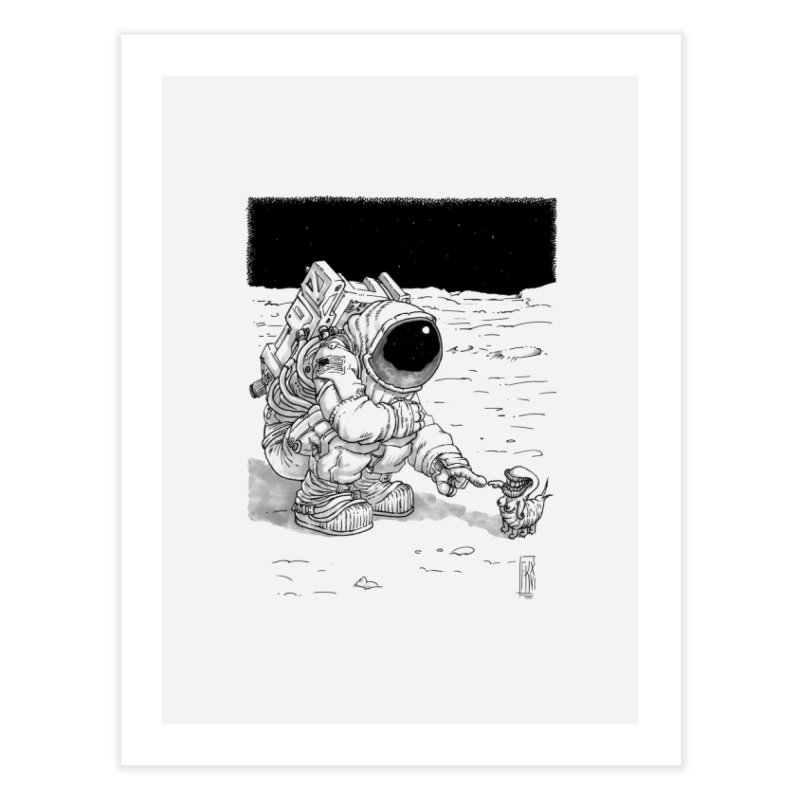 Thingy Home Fine Art Print by Franky Nieves Shop