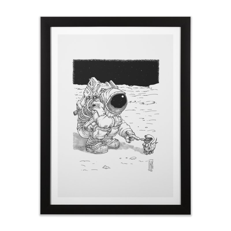 Thingy Home Framed Fine Art Print by Franky Nieves Shop