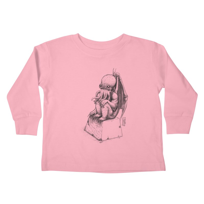Let me guess... Kids Toddler Longsleeve T-Shirt by Franky Nieves Shop