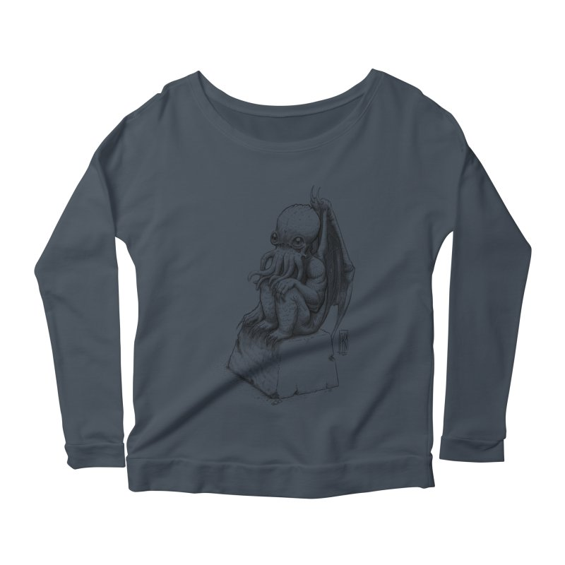 Let me guess... Women's Scoop Neck Longsleeve T-Shirt by Franky Nieves Shop
