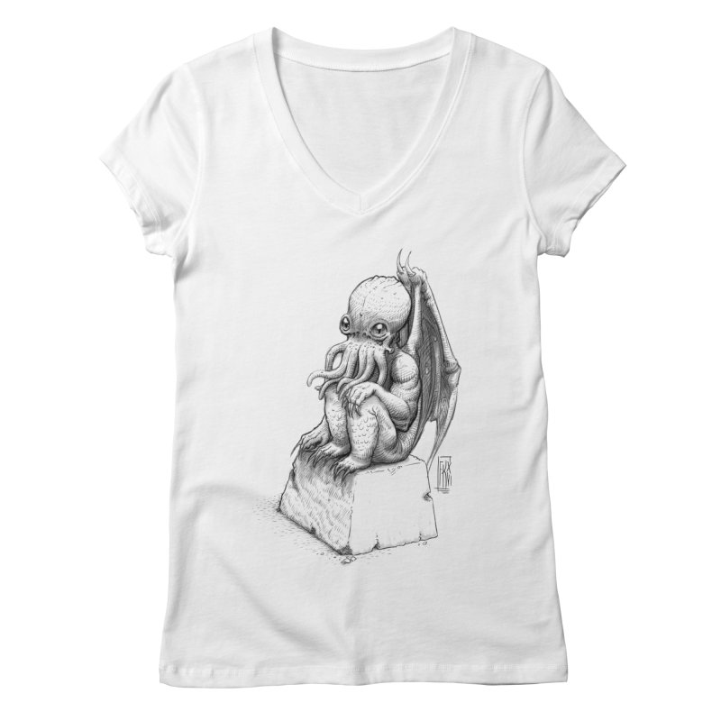 Let me guess... Women's Regular V-Neck by Franky Nieves Shop