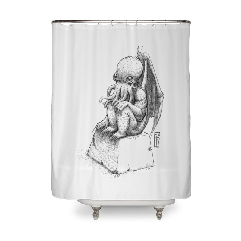 Let me guess... Home Shower Curtain by Franky Nieves Shop