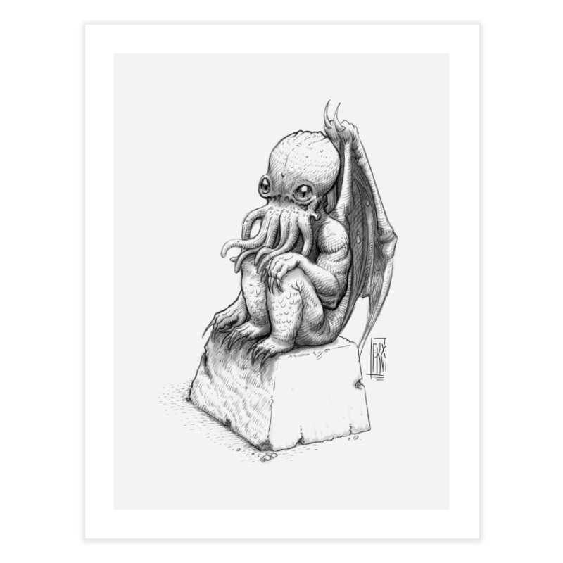 Let me guess... Home Fine Art Print by Franky Nieves Shop