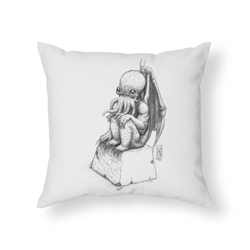 Let me guess... Home Throw Pillow by Franky Nieves Shop