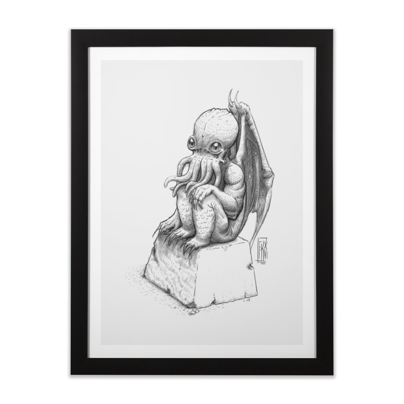 Let me guess... Home Framed Fine Art Print by Franky Nieves Shop