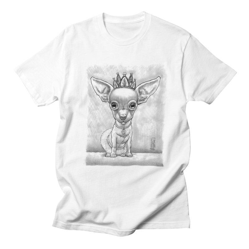 Ay Chihuahua princesa! Men's Regular T-Shirt by Franky Nieves Shop