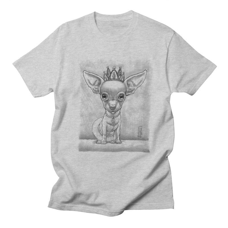 Ay Chihuahua princesa! Men's T-Shirt by Franky Nieves Shop