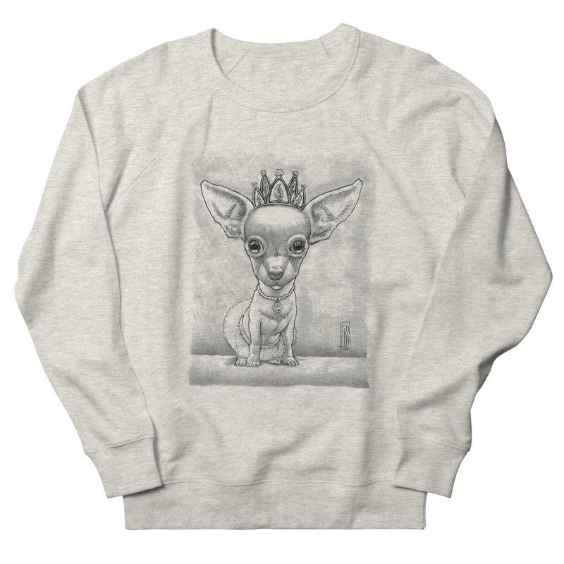 Ay Chihuahua princesa! Men's French Terry Sweatshirt by Franky Nieves Shop