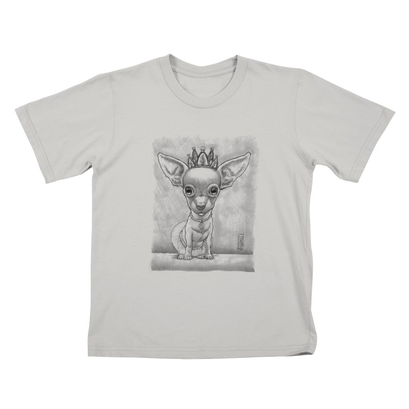 Ay Chihuahua princesa! Kids T-Shirt by Franky Nieves Shop