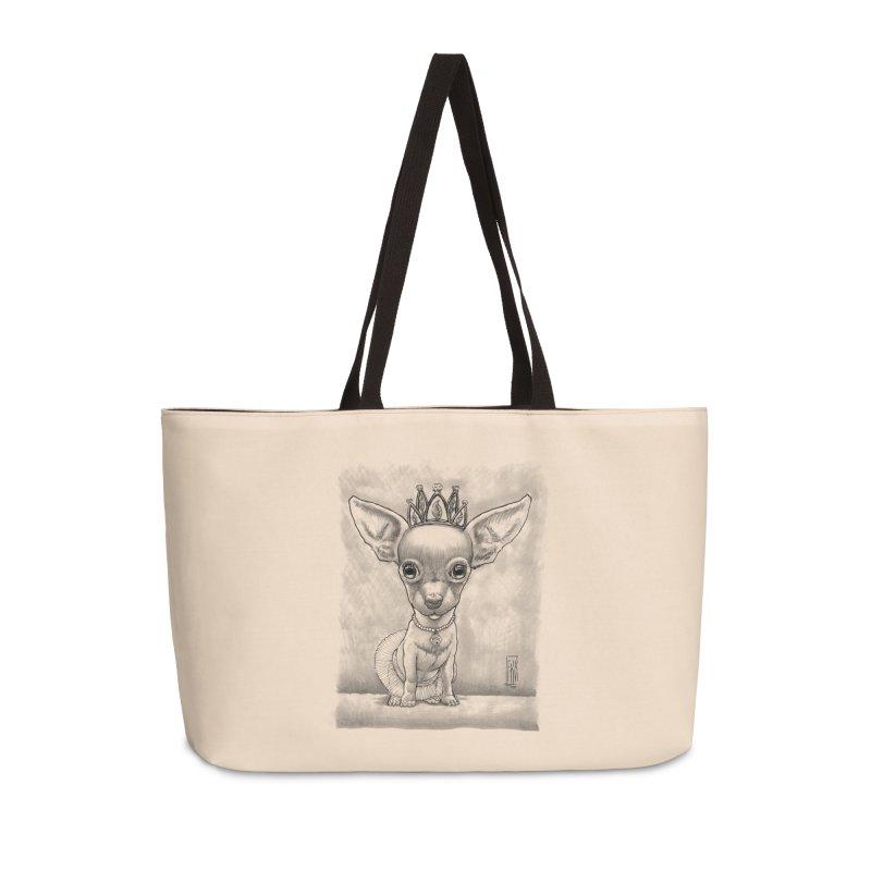Ay Chihuahua princesa! Accessories Weekender Bag Bag by Franky Nieves Shop