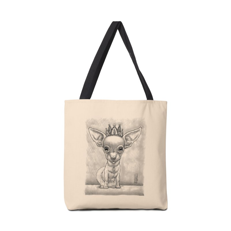Ay Chihuahua princesa! Accessories Bag by Franky Nieves Shop