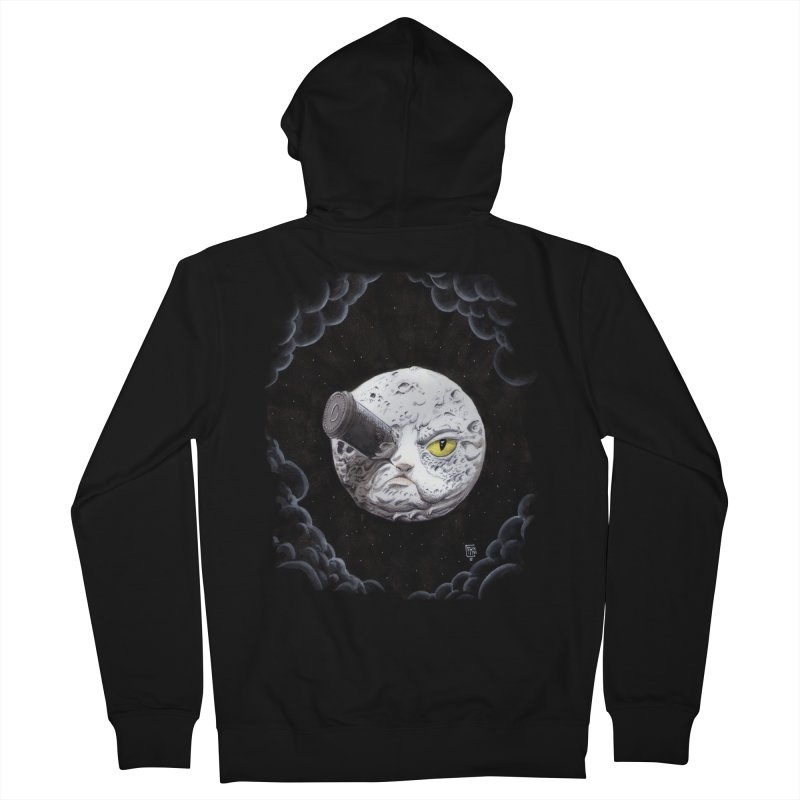 From earth to... no. Women's French Terry Zip-Up Hoody by Franky Nieves Shop