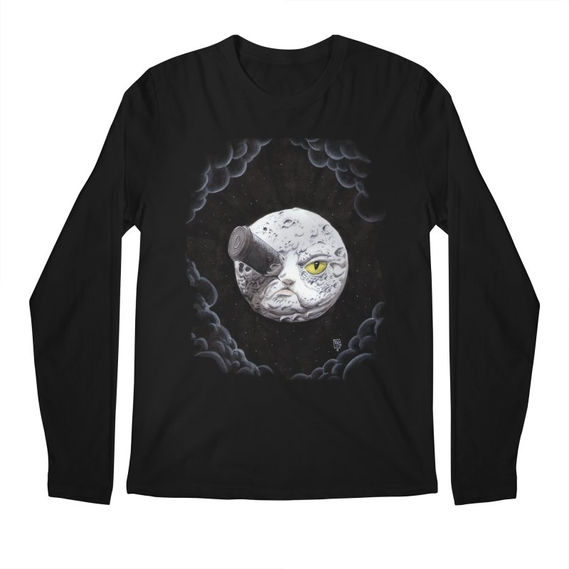 From earth to... no. Men's Regular Longsleeve T-Shirt by Franky Nieves Shop