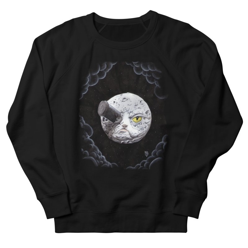 From earth to... no. Men's French Terry Sweatshirt by Franky Nieves Shop