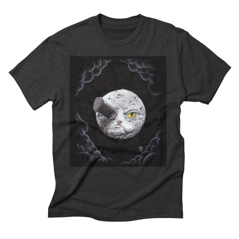 From earth to... no. Men's Triblend T-Shirt by Franky Nieves Shop