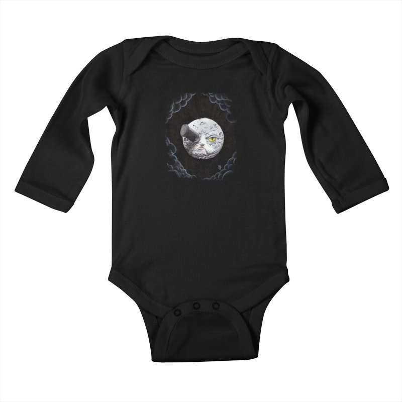From earth to... no. Kids Baby Longsleeve Bodysuit by Franky Nieves Shop