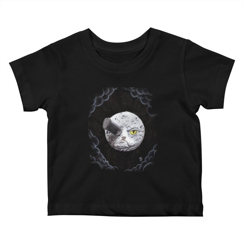 From earth to... no. Kids Baby T-Shirt by Franky Nieves Shop